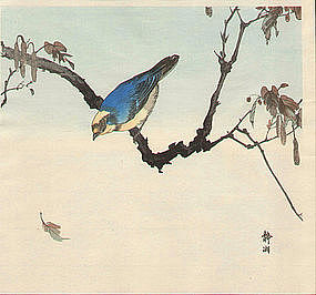 If you keep an open bough, the singing bird will come
